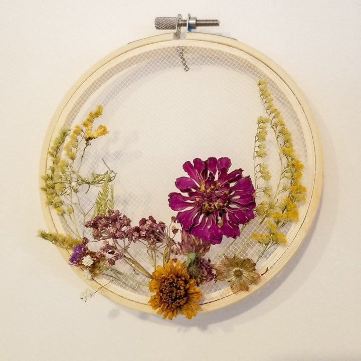 Dried Flower Wreath Workshop: March 28, 2019 at 7:00PM