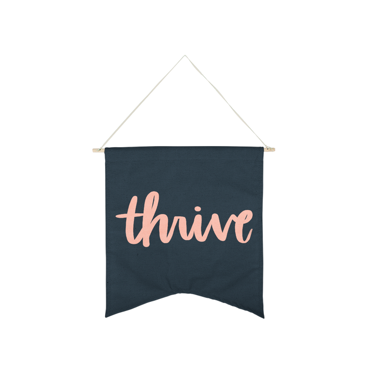 Wall Hanging: Thrive