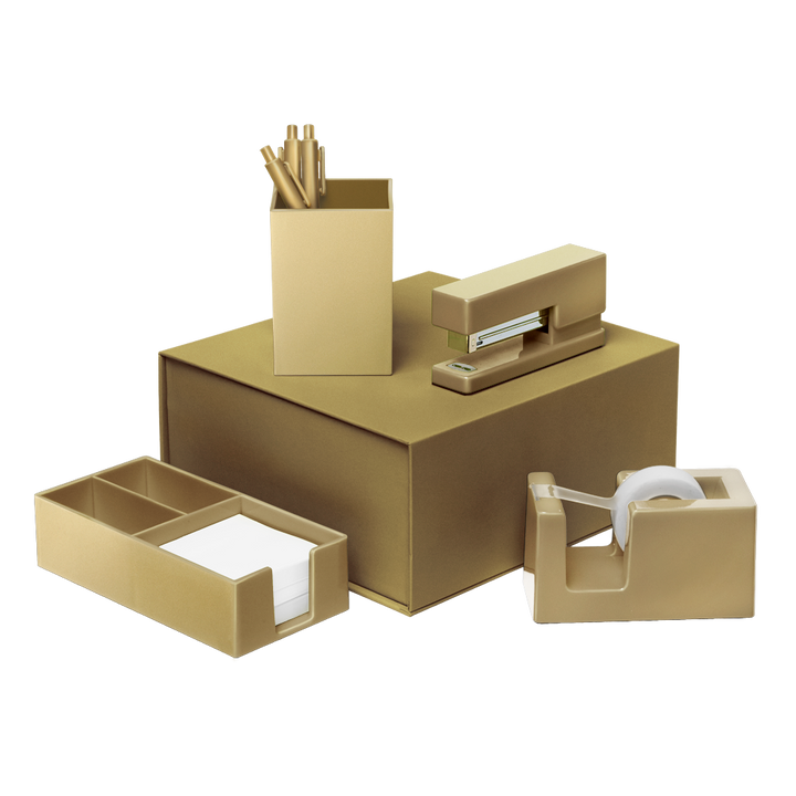 Desk Set: Gold