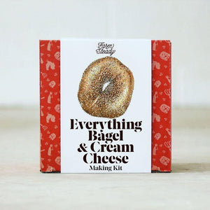 DIY Kit: Everything Bagel + Cream Cheese