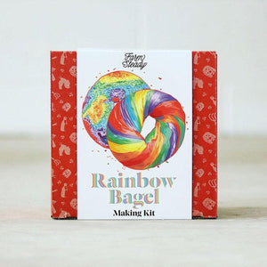 DIY Kit: Rainbow Bagel Kit