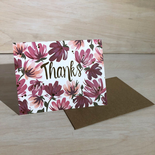 Card: Thanks, Once Upon A Laurén