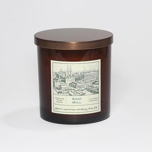 Candle: Soap Mill, Jersey City Collection