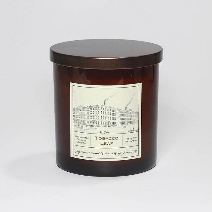 Candle: Tobacco Leaf, Jersey City Collection