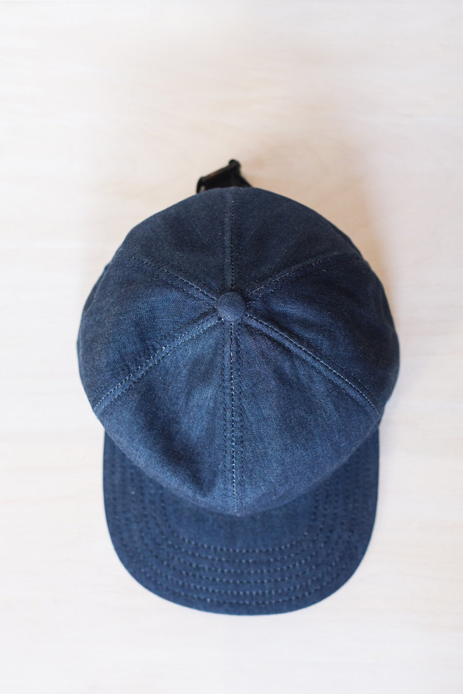 Denim 6-Panel Cap