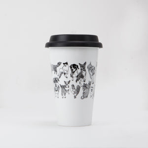 Travel Mug: Animals of Jersey City, 11oz
