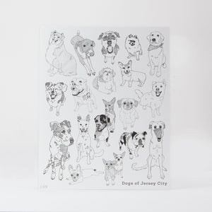 Signed Print: Dogs of Jersey City (8x10)