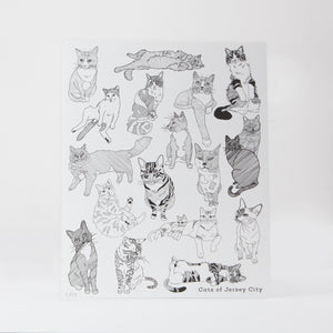 Signed Print: Cats of Jersey City (8x10)