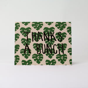 Card: Thanks A Bunch, Moxie Fox