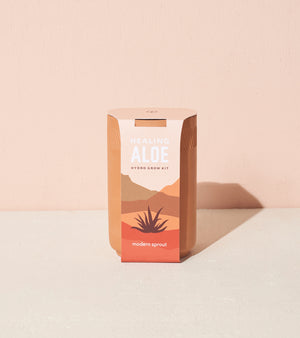 Grow Kit: Healing Aloe, Terracotta