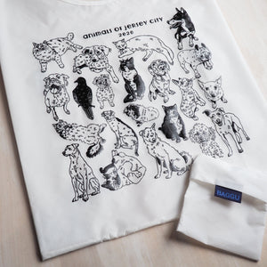 Reusable Tote Bag: Animals of Jersey City