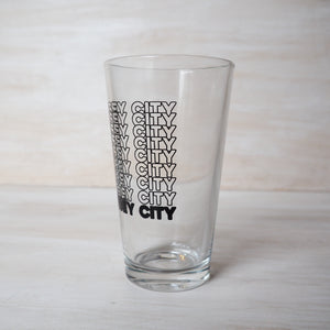 Brew Pub Glass: Cascading Jersey City