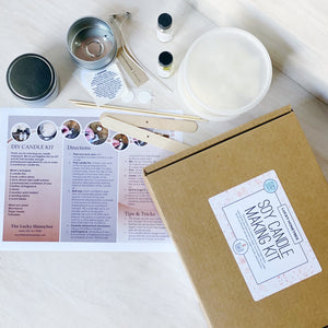 DIY Kit: Candle Making by The Lucky Honeybee