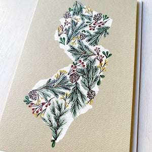Card/Print: Winter Floral, Once Upon A Laurén