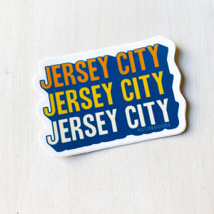 Sticker Pack: JERSEY CITY Cascading, Set of 3