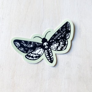 Sticker Pack: Moth - Kanibal + Co, Set of 3