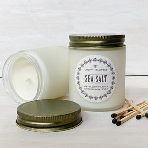 Candle: Sea Salt, Lucky HoneyBee