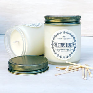 Candle: Christmas Hearth, Lucky HoneyBee