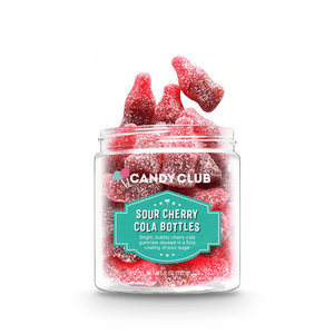 Candy Club: Sour Cherry Cola Bottles
