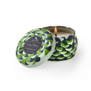 Candle: Roland Pine Tin, Small