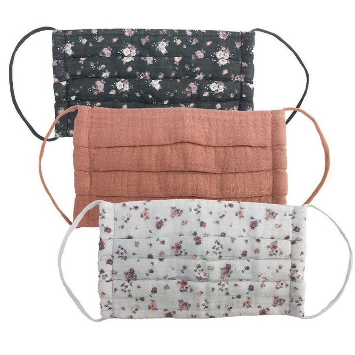 Face Mask: Vintage Floral, 3 Pack