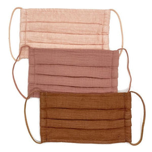 Face Mask: Dusty Rose, 3 Pack