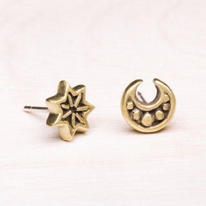 Earrings: Nocturne Studs