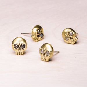 Earrings: Vanitas Studs