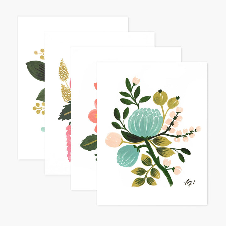 Boxed Card Set: Botanical