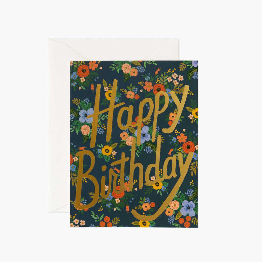 Card: Garden Birthday