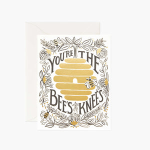Card: You're the Bee's Knees