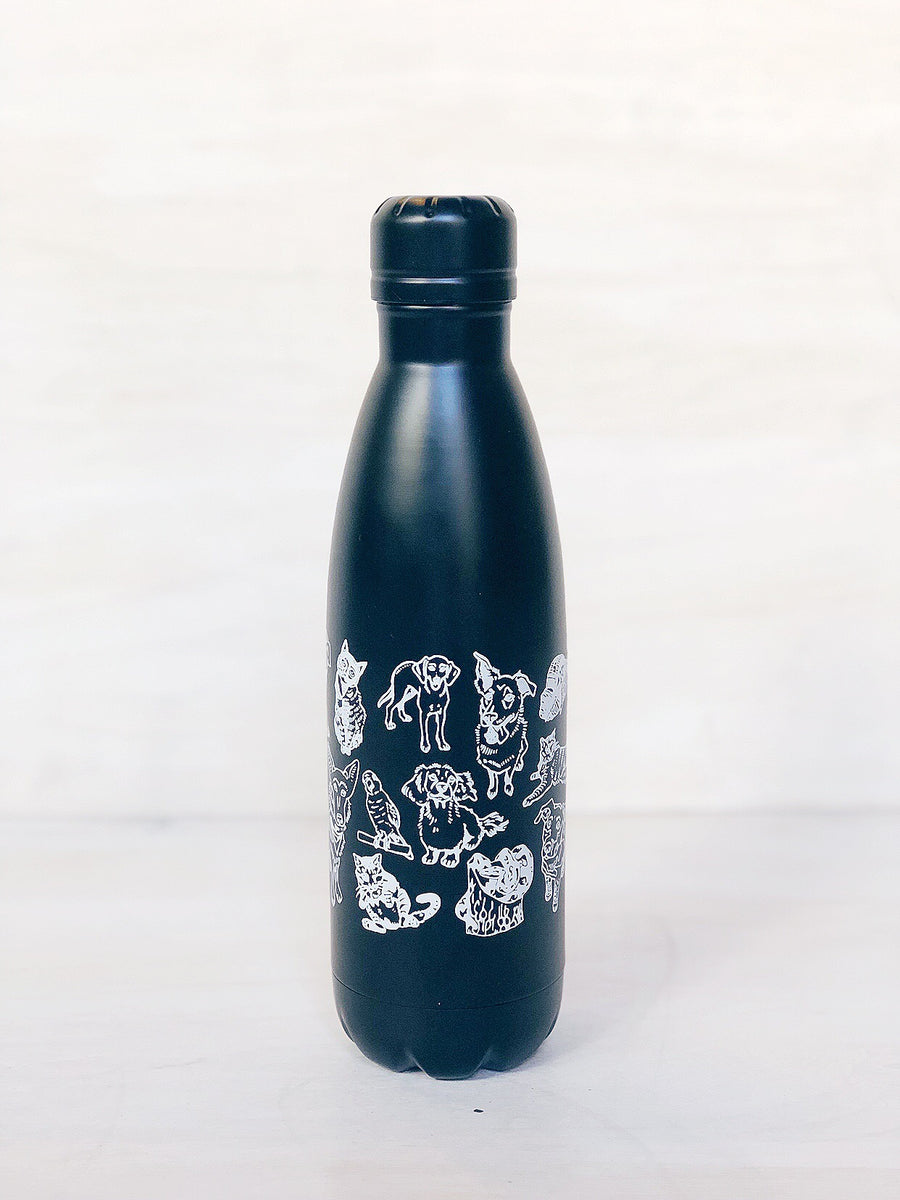 Insulated Bottle: Animals of Jersey City