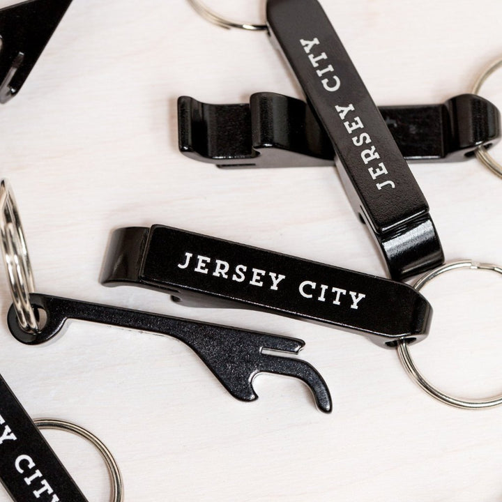 Jersey City Bottle Opener + Key Chain