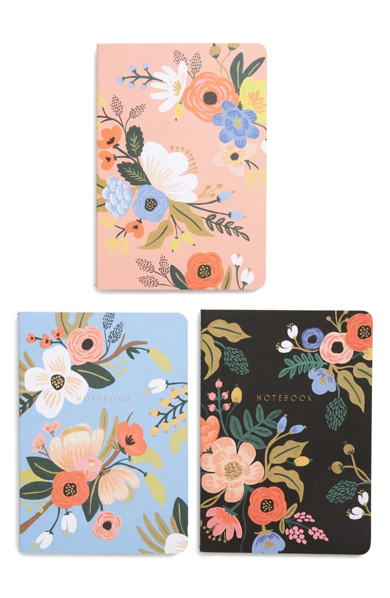Stitched Notebook Set: Lively Floral