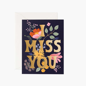 Card: I Miss You
