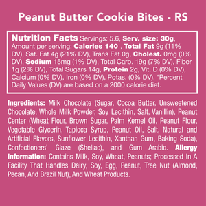 Candy Club: Peanut Butter Cookie Bites