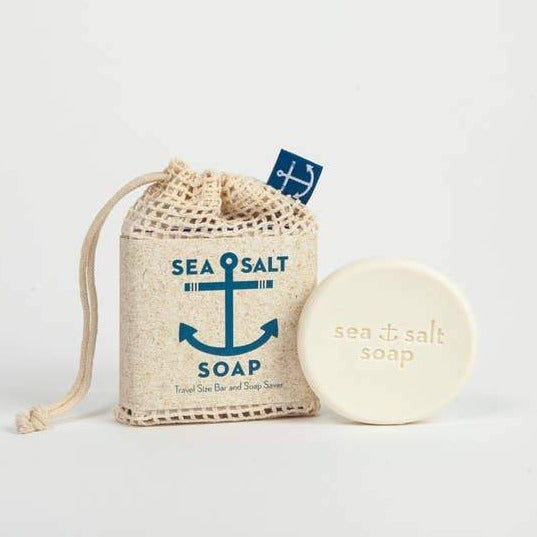Soap: Travel Size Sea Salt + Soap Saver, Swedish Dream