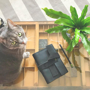 Leather Notebook Workshop: June 27, 2019 at 7:00PM