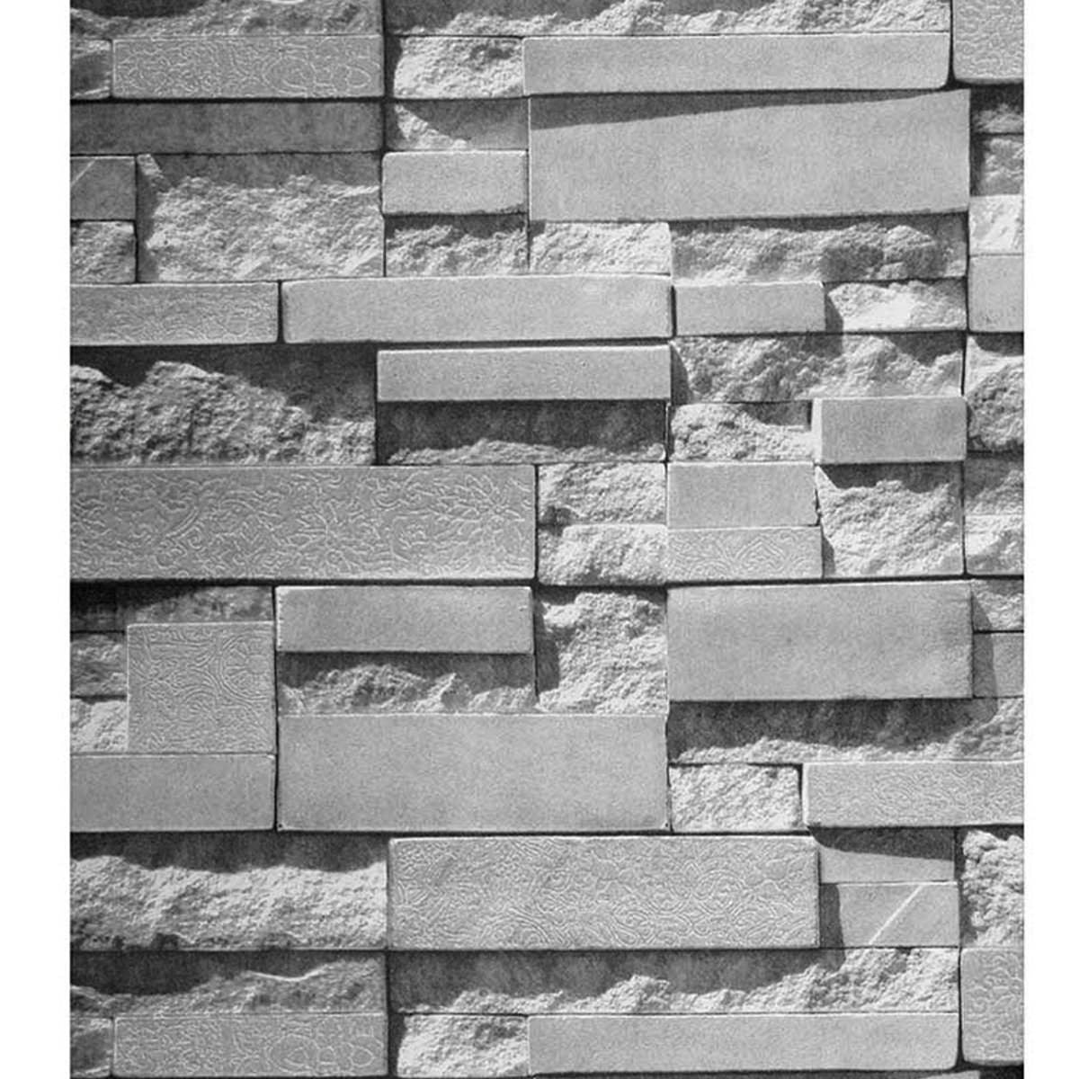grey brick stone wallpaper