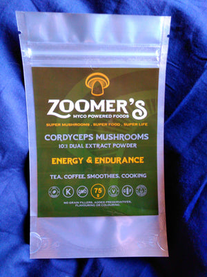 MUSHROOM EXTRACT - CORDYCEPS - ZOOMER'S MYCO POWERED FOODS