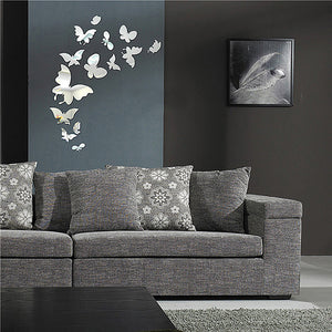 3D wall butterfly decoration