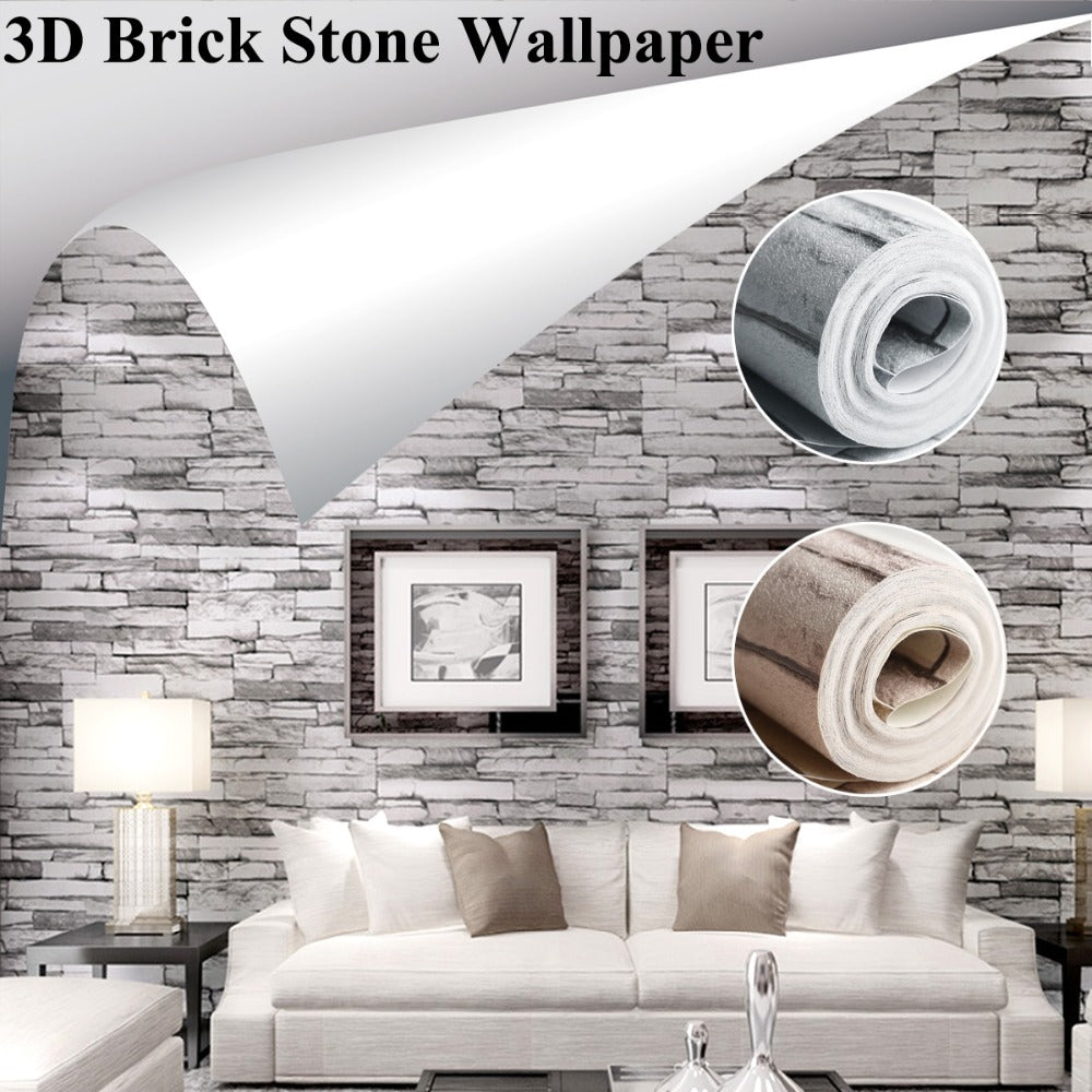 3d brick stone wallpaper