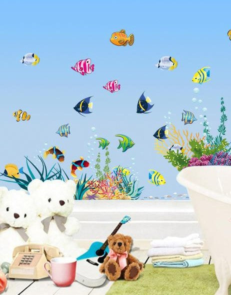 kids, children decorative wall decals
