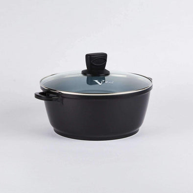"11"" (28 Cm) Ceramic Soup Pot With Lid"