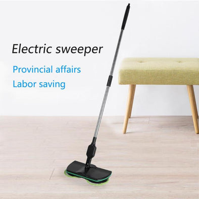 Household Electric Sweeper Mop Floor Cleaning Tools Microfiber Mop Rechargeable Cleaning Brush Automatic Mop Cleaner New Hot