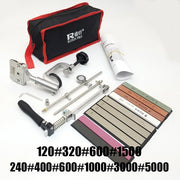 all new ruixin pro knife  stone  sharpening system  blade  diamond whetstone  3000 grit professional sharpener sharpening
