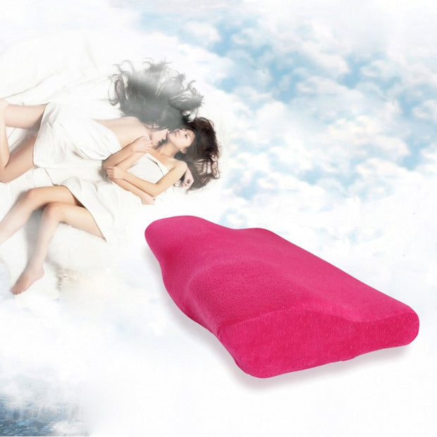 Butterfly Shaped Pillow 50*30cm/60*33cm anti snore pillow Memory Foam Bedding Pillow Neck protection Orthopedic Pillows