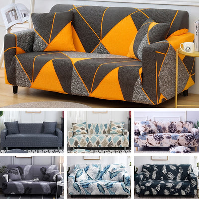 sofa cover Sofa Tight wrap all-inclusive sectional elastic seat covers couch sofa bed cover Covering Slipcovers