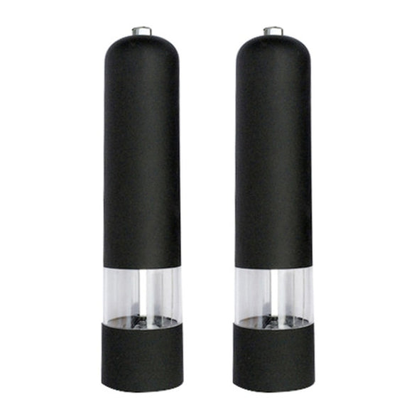 Stainless Steel Electric Seasoning Grinder Pepper Grinder Salt & Pepper Mill Grinder Kitchen Tools Accessories for Cooking
