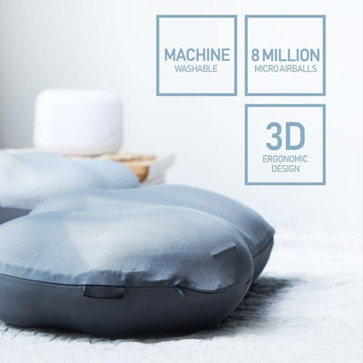 Creative Deep Sleep Addiction 3D Neck Pillow Washable Polyester Pillowcase Cover Travel Pillows Neck